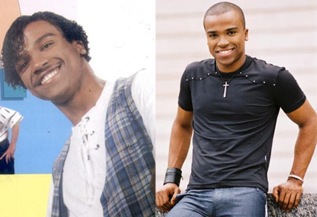 Imagens: antes e depois da fama Reprodução/