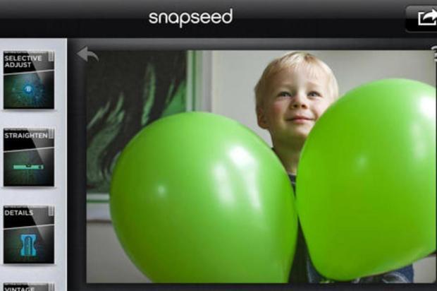 Conheça seis aplicativos de edição para transformar suas fotos reprodução/Snapseed