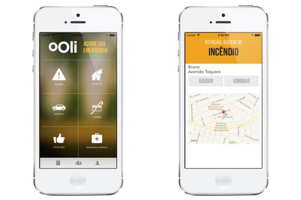 Gaúchos criam aplicativo que auxilia em segurança pessoal com apenas um clique Divulgação/Ooli