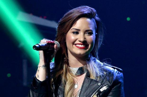 """""""Eu não sou tão fã do One Direction"""", diz Demi Lovato ao afirmar que não faria parceria com o grupo Kevin Winter/Getty Images for Clear Channel/AFP"""