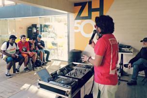 Oficina de DJ's na Estação ZH