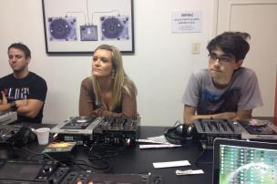 Oficina de DJ's na AIMEC
