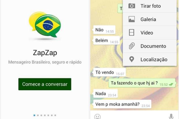 ZapZap: conheça o aplicativo genérico do WhatsApp que pode ser usado até no computador Divulgação/ZapZap