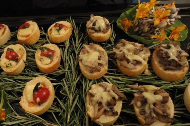 Menu Kzuka: aprenda a fazer bruschettas Divulgação/Assessoria Gastronômica