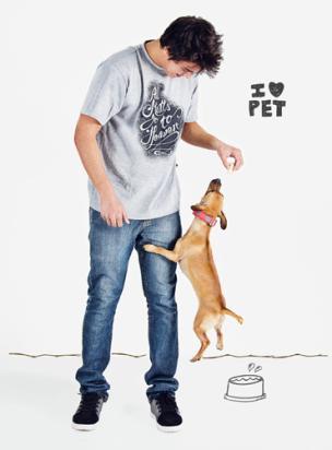 Editorial de moda especial Pets