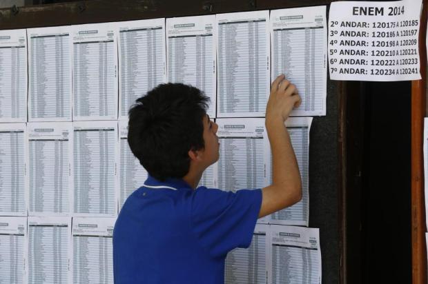 Enem 2014 tem 1.519 candidatos eliminados e 28% de abstenção Adriana Franciosi/Agencia RBS