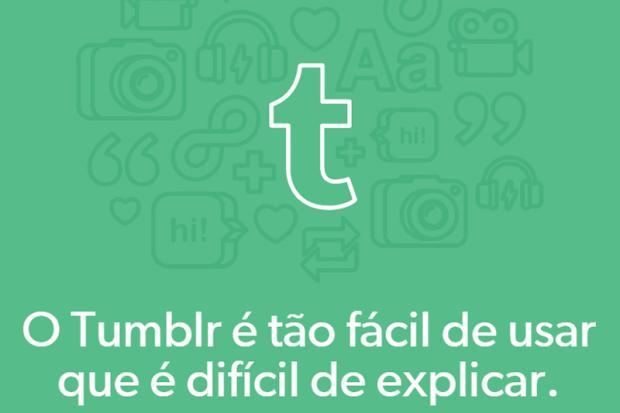 Tumblr é a plataforma social que mais cresce Reprodução/
