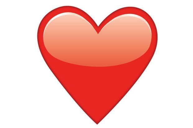 """Emoji de coração foi a """"palavra"""" mais usada em 2014 Reprodução/"""