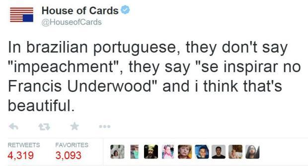 """Os melhores memes com a expressão """"In brazilian portuguese..."""" Reprodução/Twitter"""