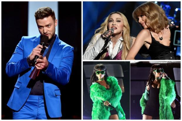 Veja a lista de vencedores e os melhores momentos do iHeartRadio Music Awards 2015 Divulgação/Montagem Kzuka